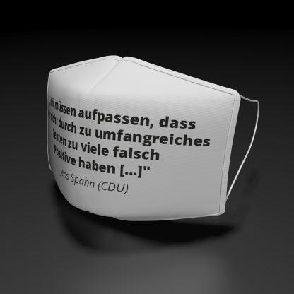 """Alltagsmaske Jens Spahn """"Wir müssen jetzt ..."""""""
